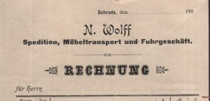 Transport N. Wolff 190..